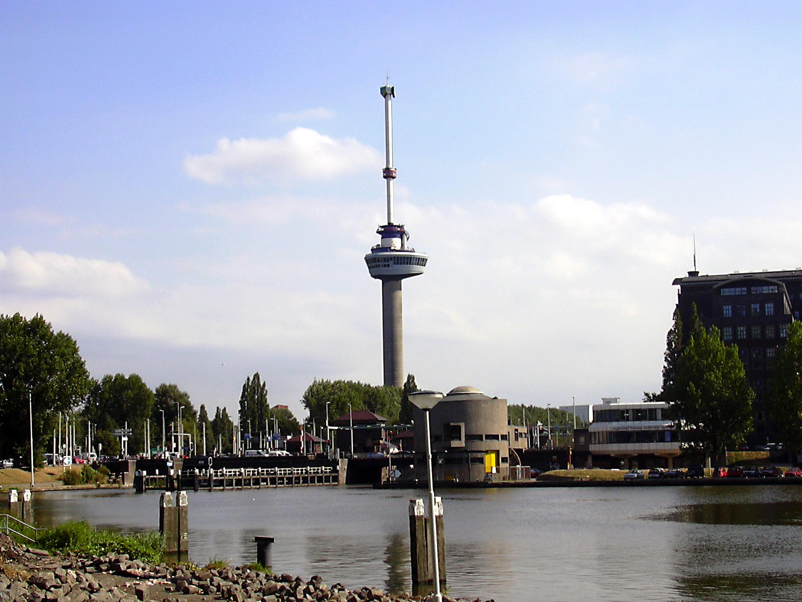 Netherlands, Europe, Euromast panoramic view