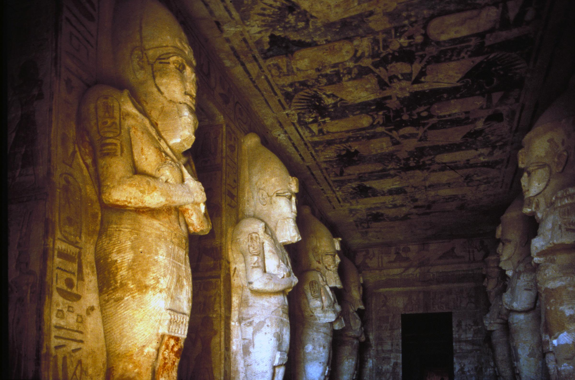 Abu Simbel, Nubia, Egypt, Interrior of Temple of Ramses II