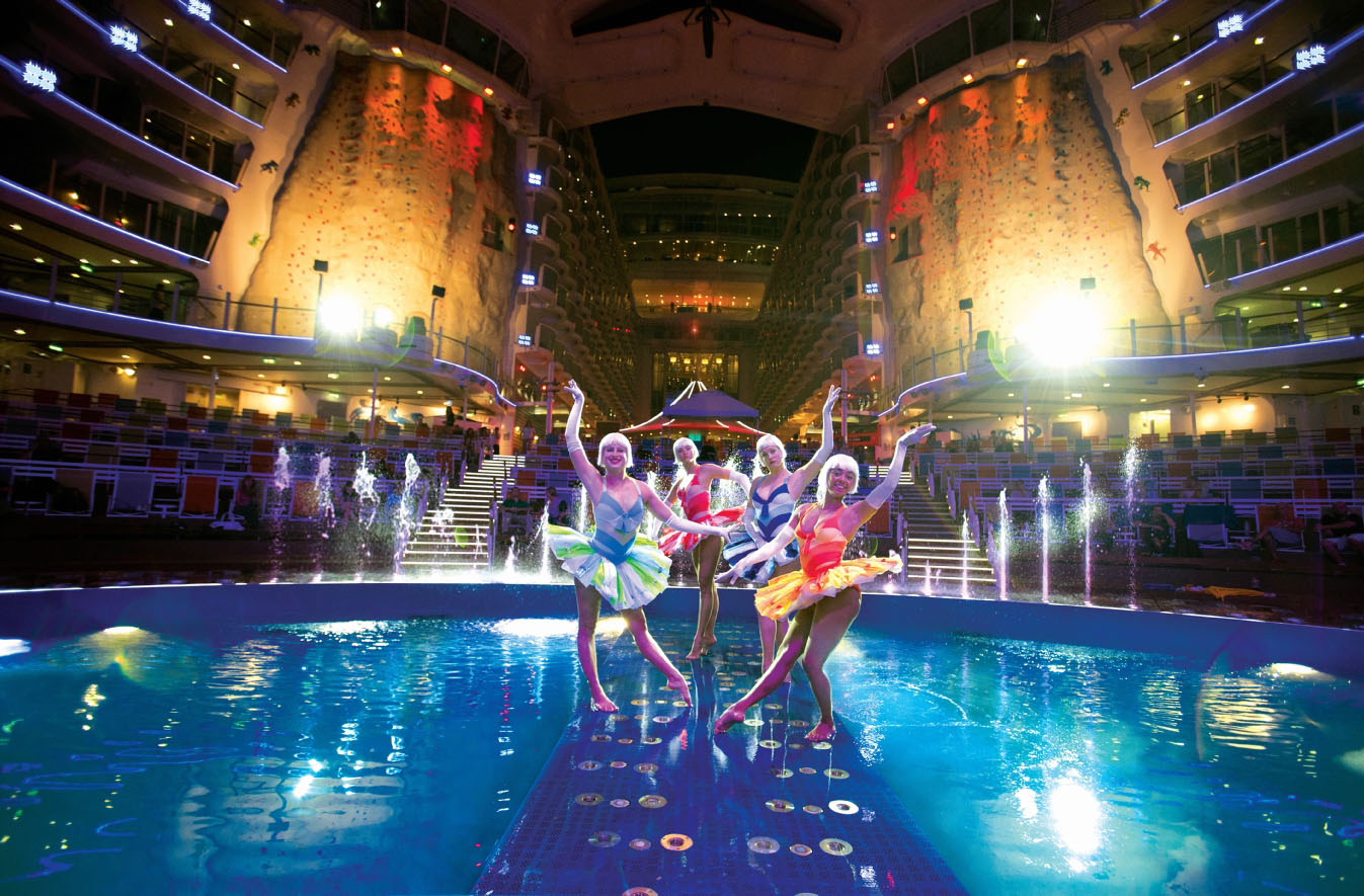 Allure of the Seas, Sheer Luxury performance