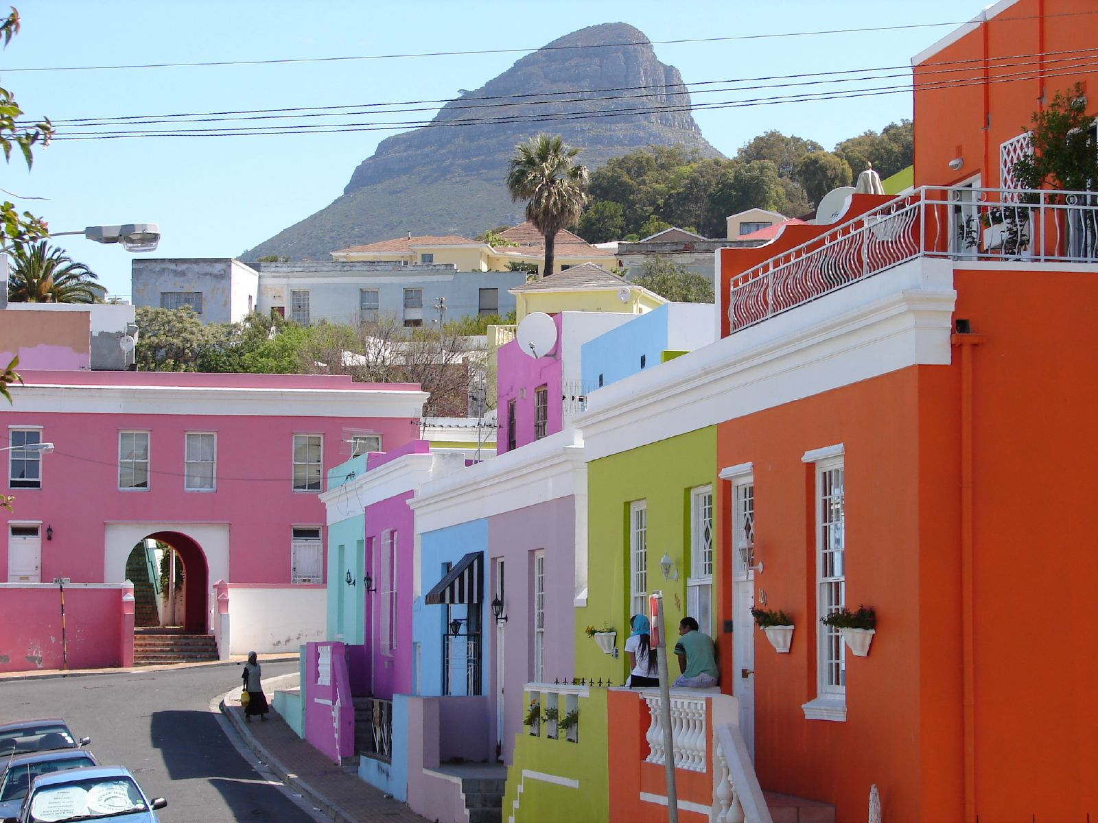 Amazing PLaces Holiday, Cape Town, South Africa, Colored building