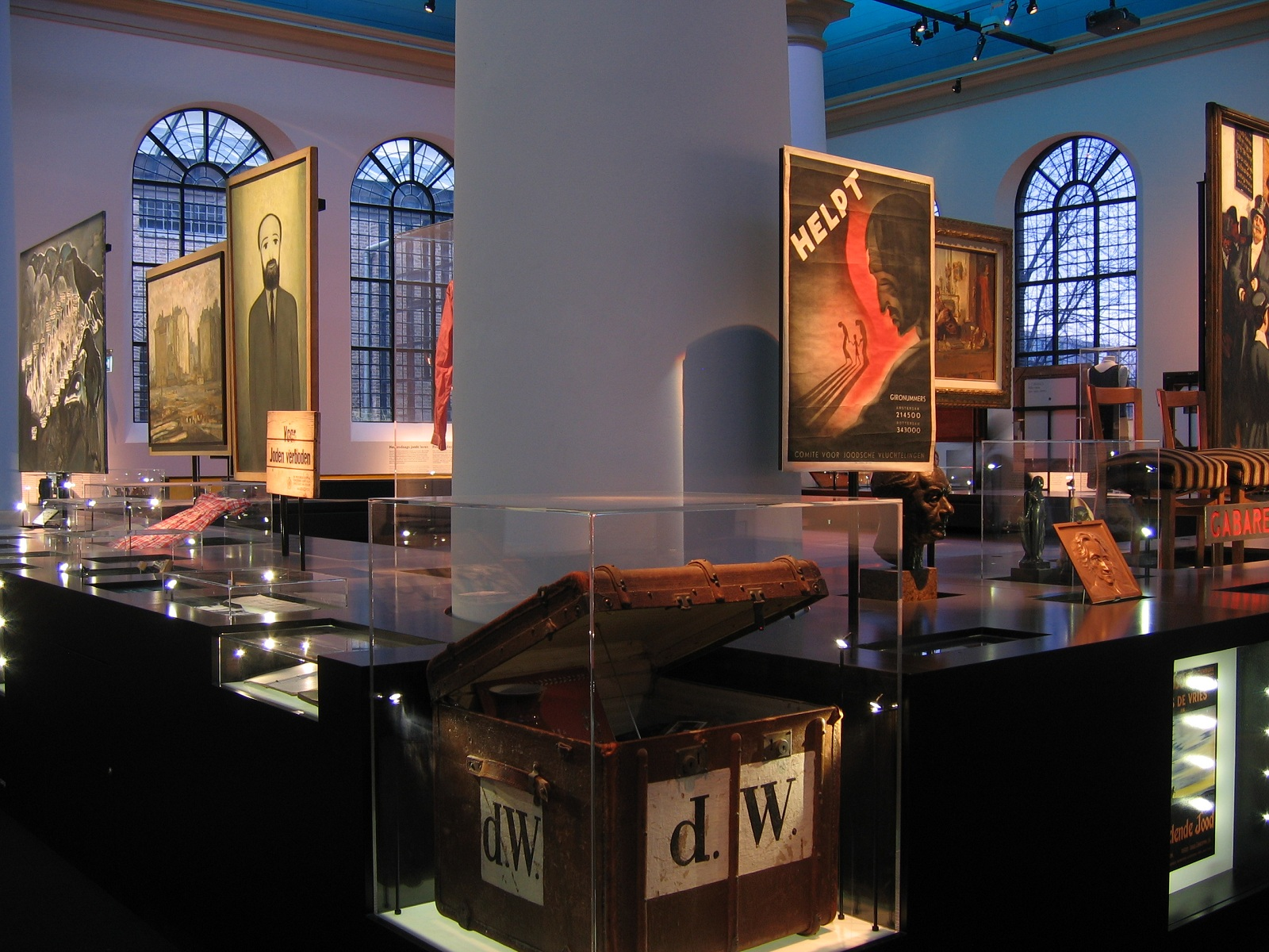 Museum Holiday, Joods Historisch Museum, Amsterdam, The Netherlands, Interior view