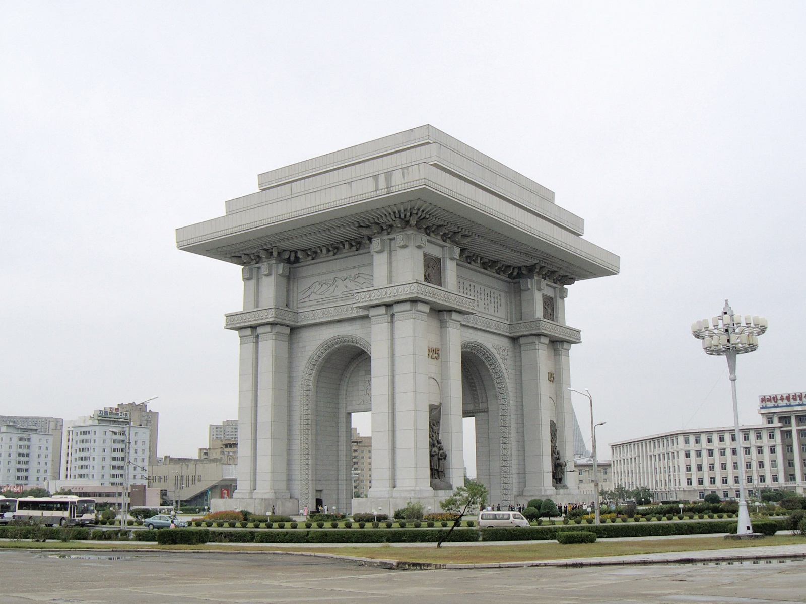 Arch of Triumphe, Pyongyang, North Korea, Overview
