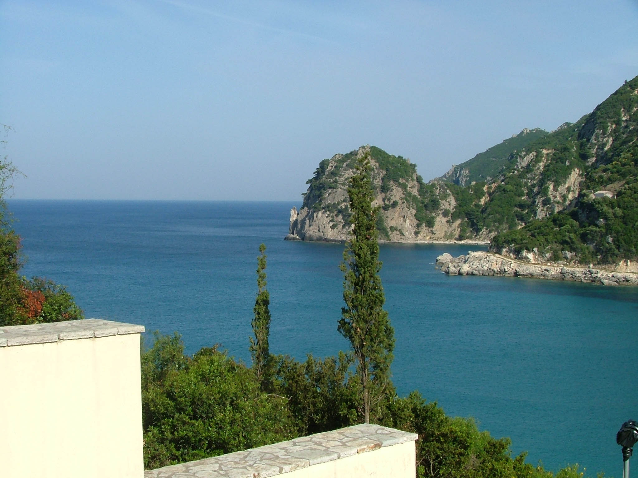 Beaches in Corfu, Corfu, Greece, Ermones overview