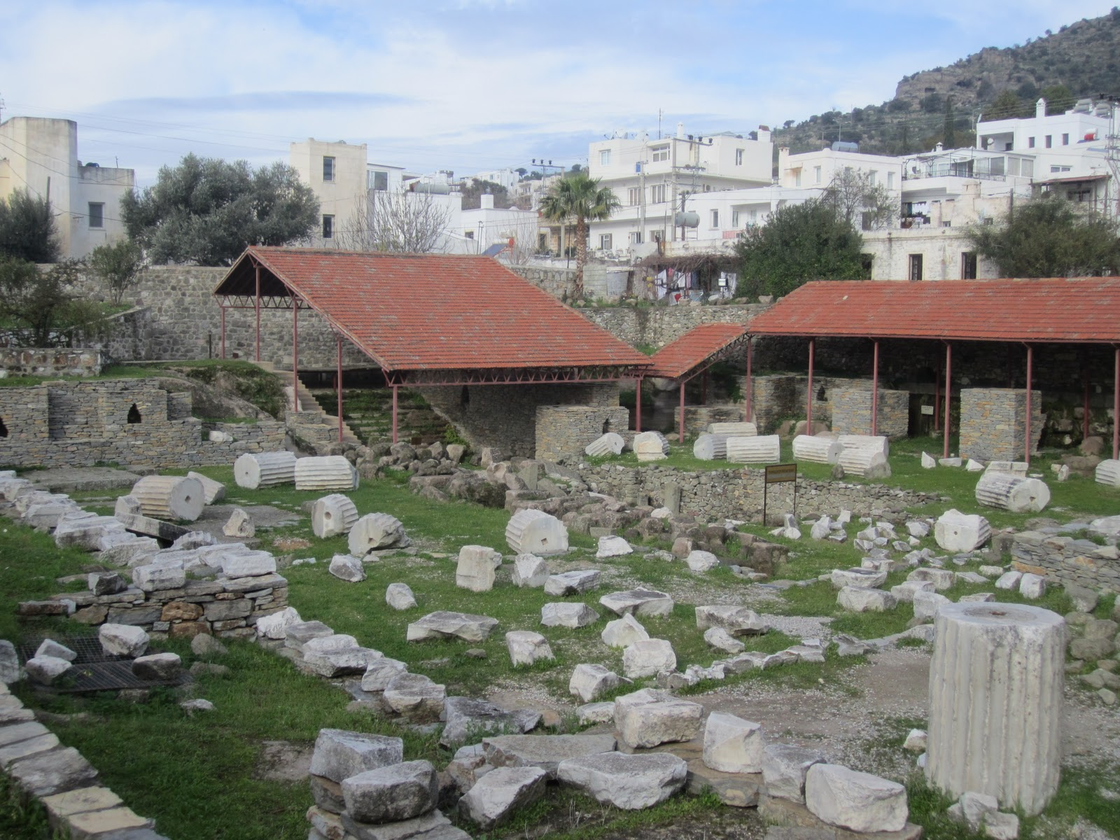 Bodrum, Turkey, Ruins of Mausoleum of Halicarnassus