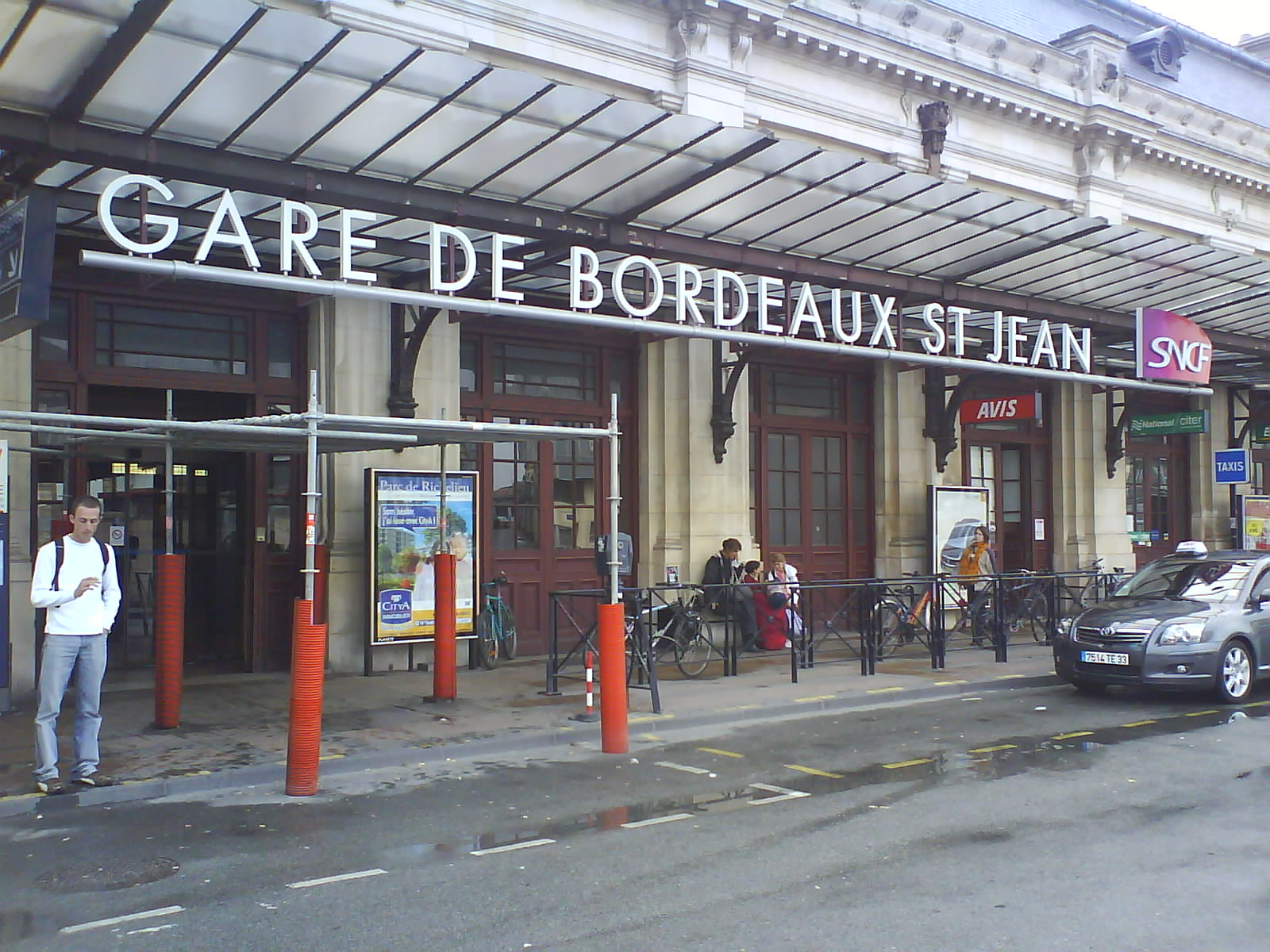 Bordeaux, France, Saint Jean train station