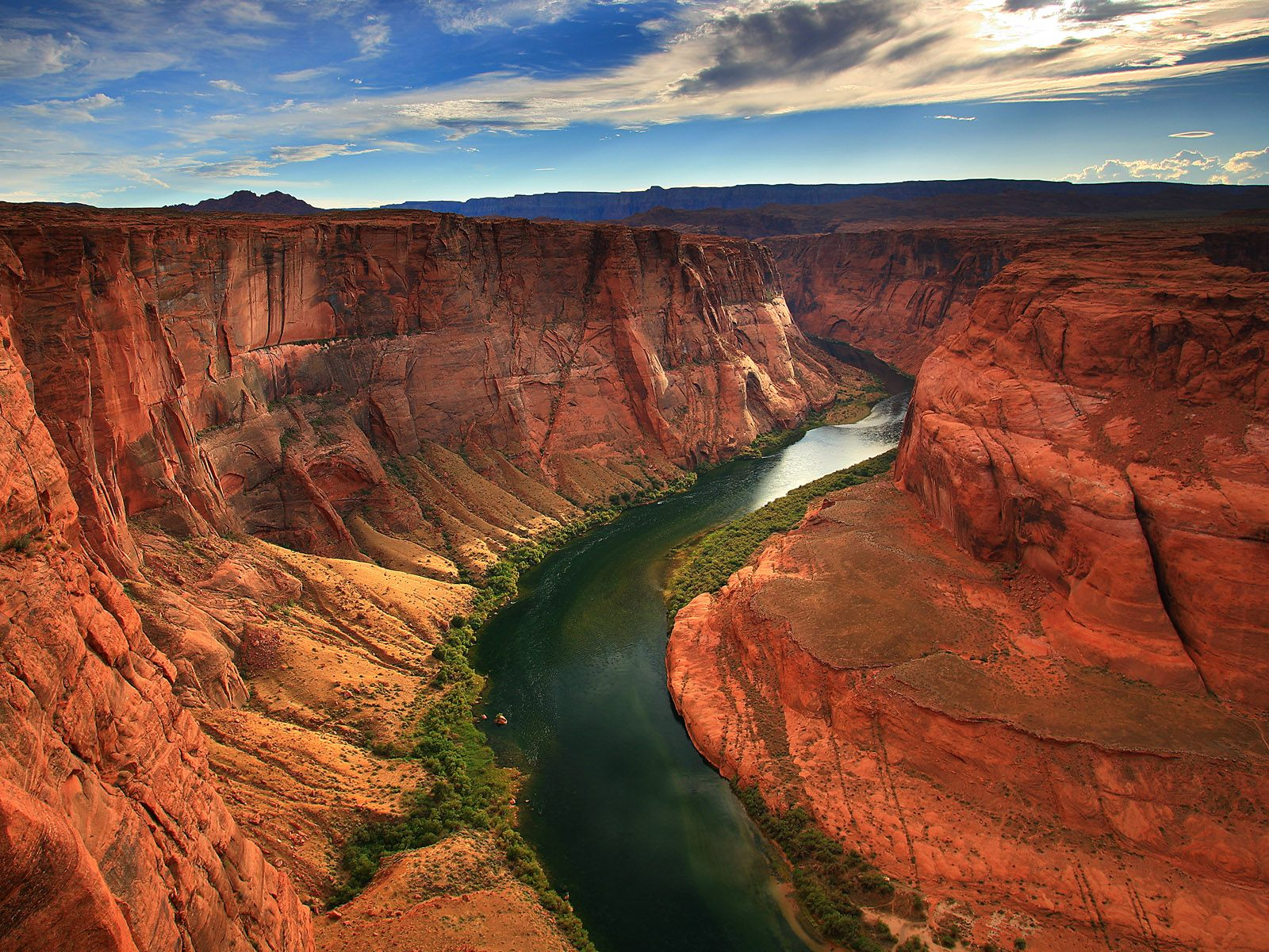 Breathtaking Landscapes, Arizona, USA, River of life Colorado River, Overview