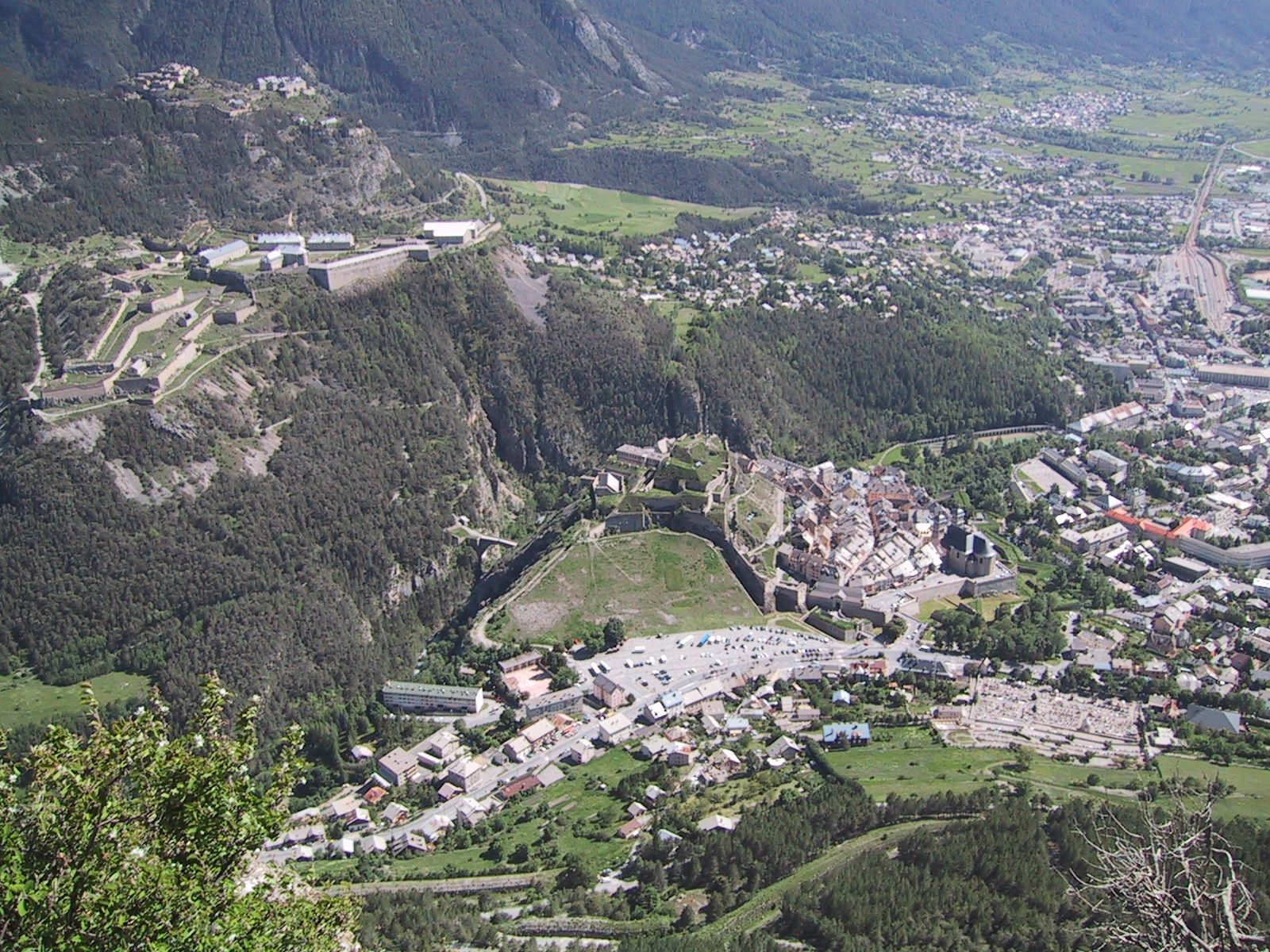 Briancon, France, View from above