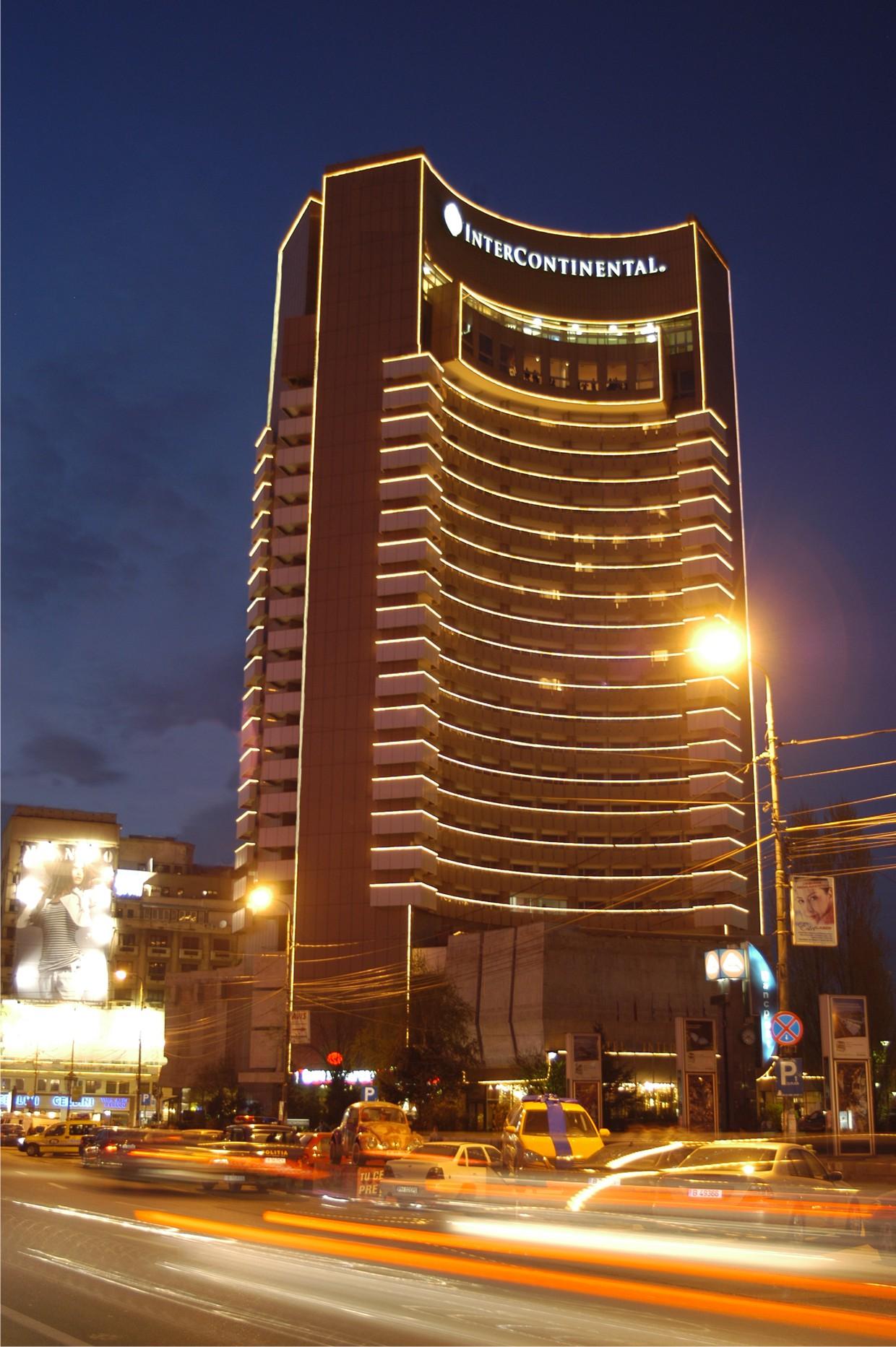 Bucharest Romania Intercontinental Hotel