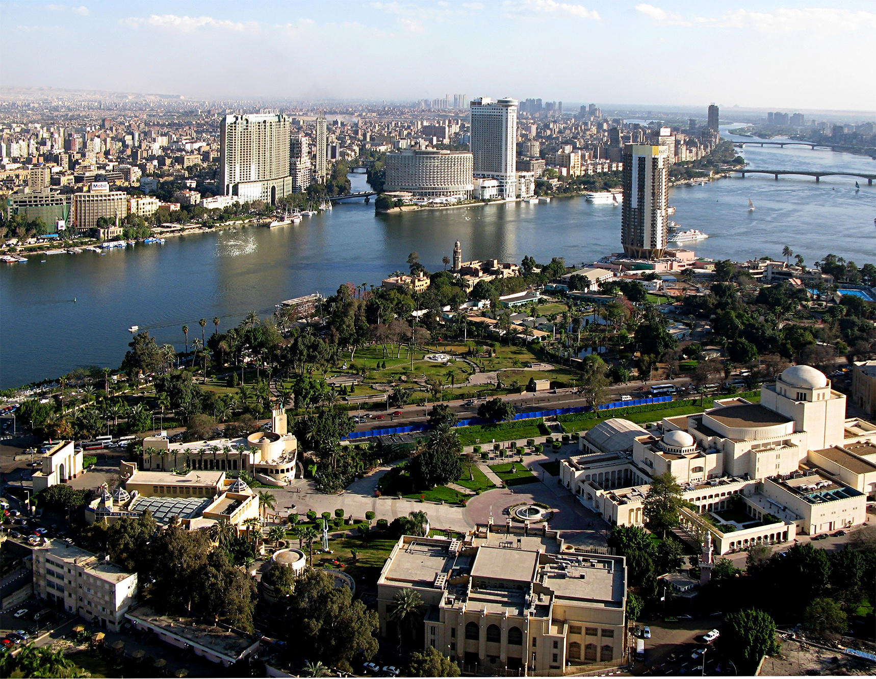 Cairo, Egypt, View from Cairo Tower
