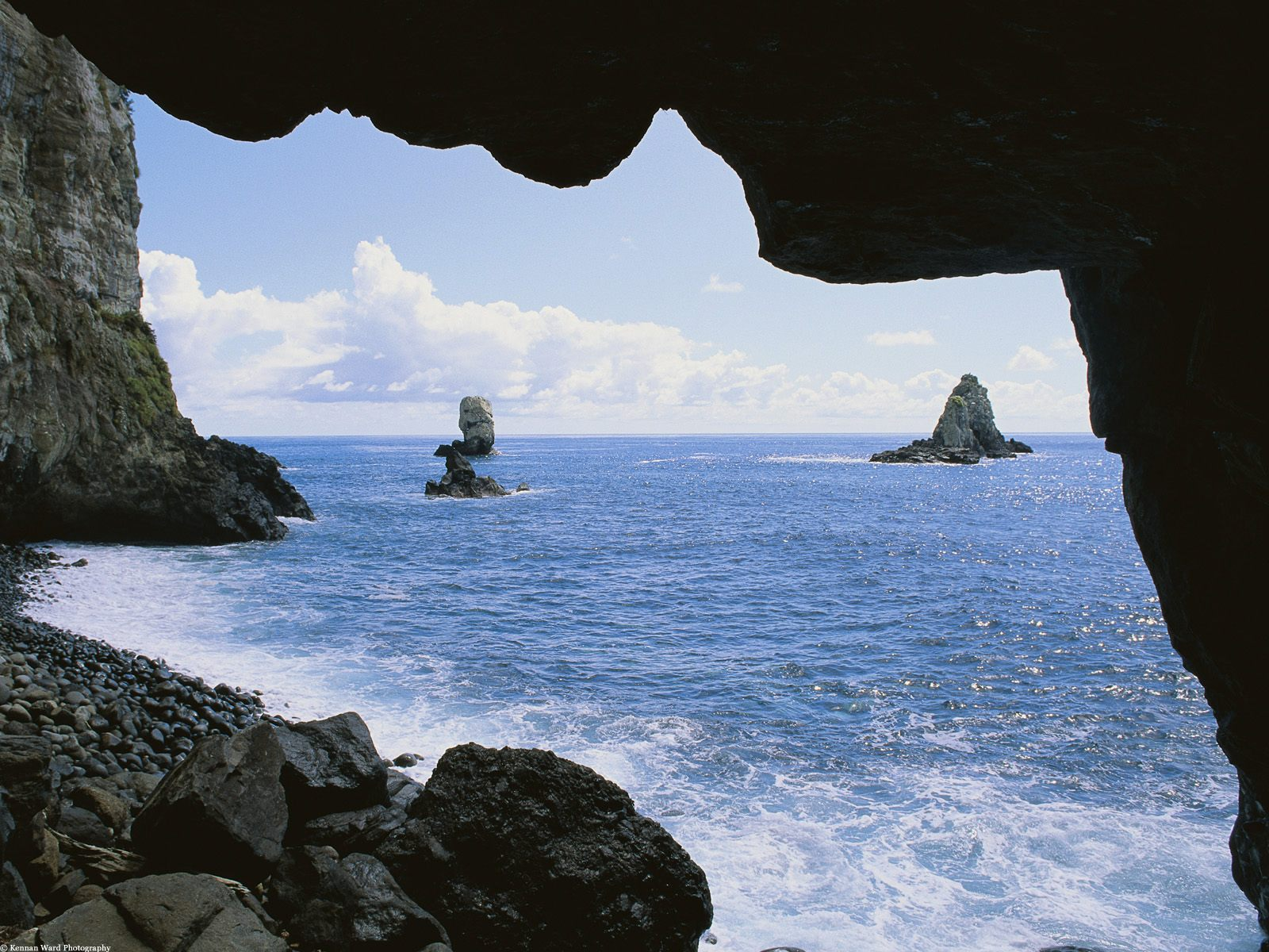 Costa Rica, America, Sea Cave view