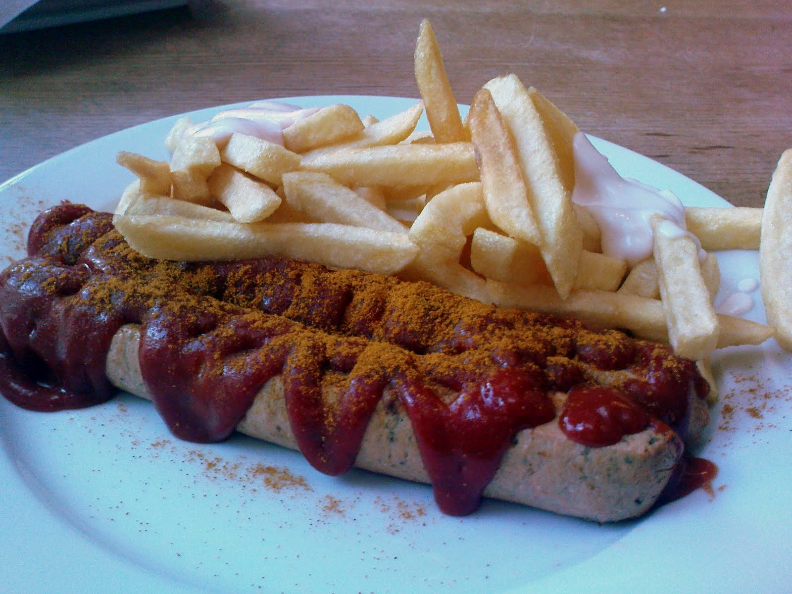 Delicious snacks, Currywurst , Germany, Presentation 08