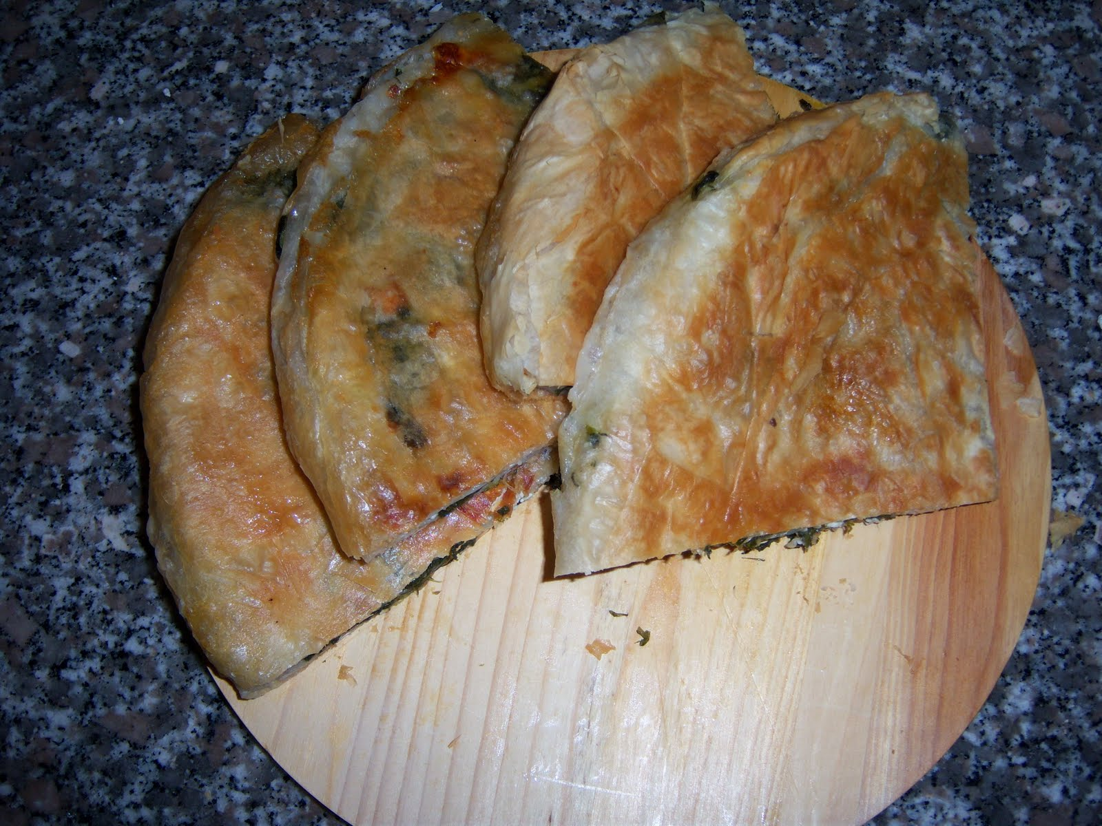 Delicious snacks, Burek, Serbia, Presentation 01