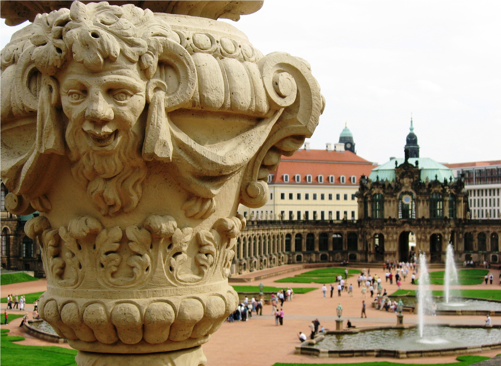 Dresden, Germany, Zwinger baroque palace complex