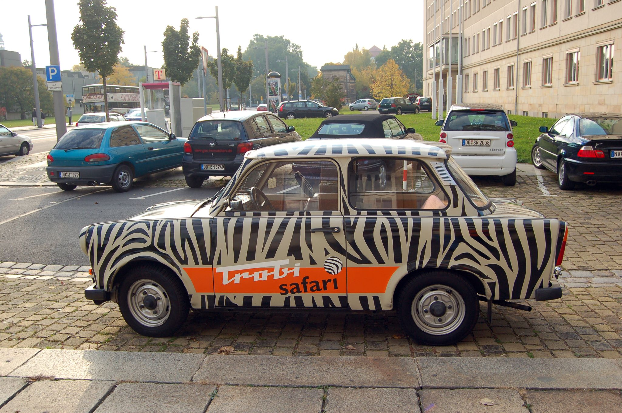 Dresden, Germany, Trabant 601S of Trabi Safari
