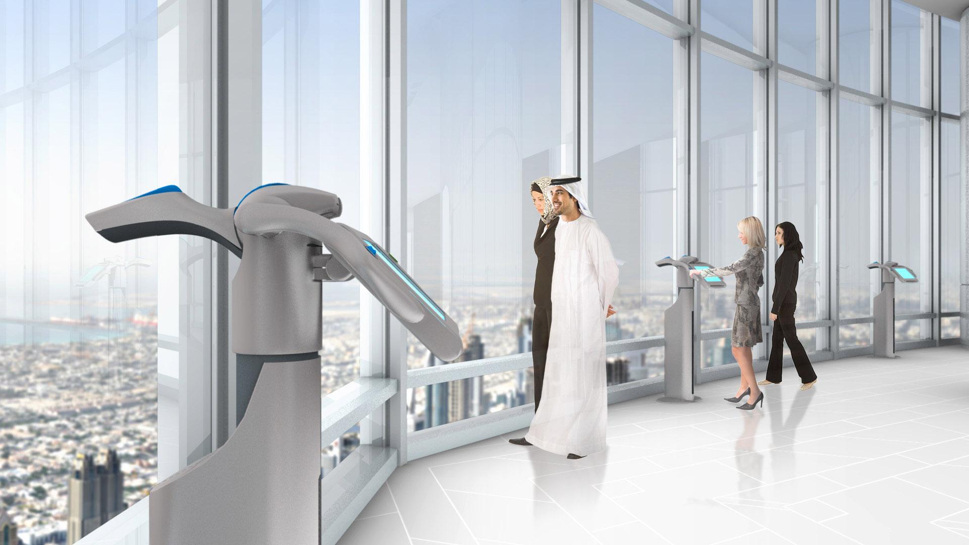 Dubai, United Arab Emirates, Burj Khalifa The Top Observation Deck