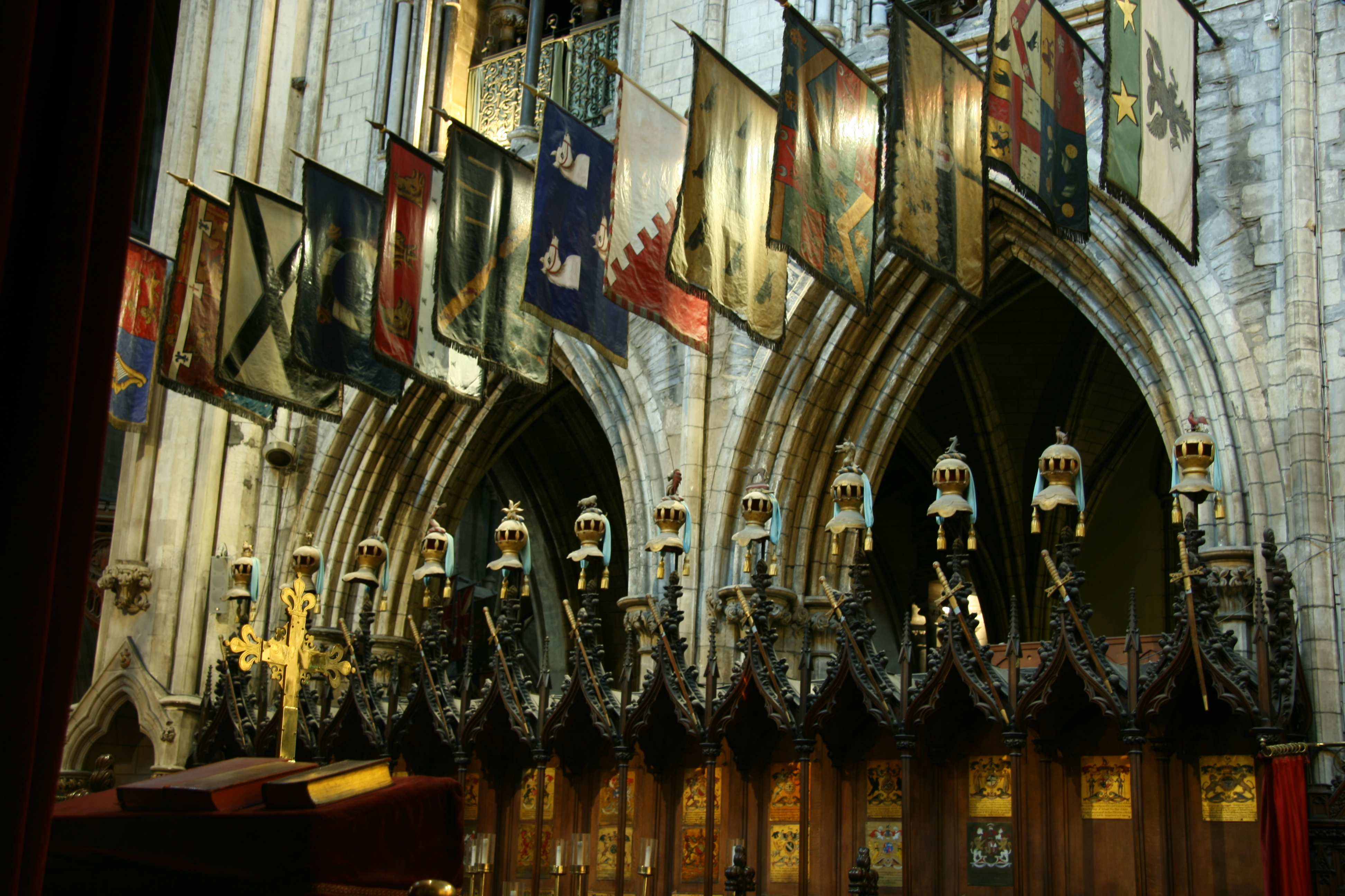 Dublin attractions, Ireland, St Patricks Cathedral inside