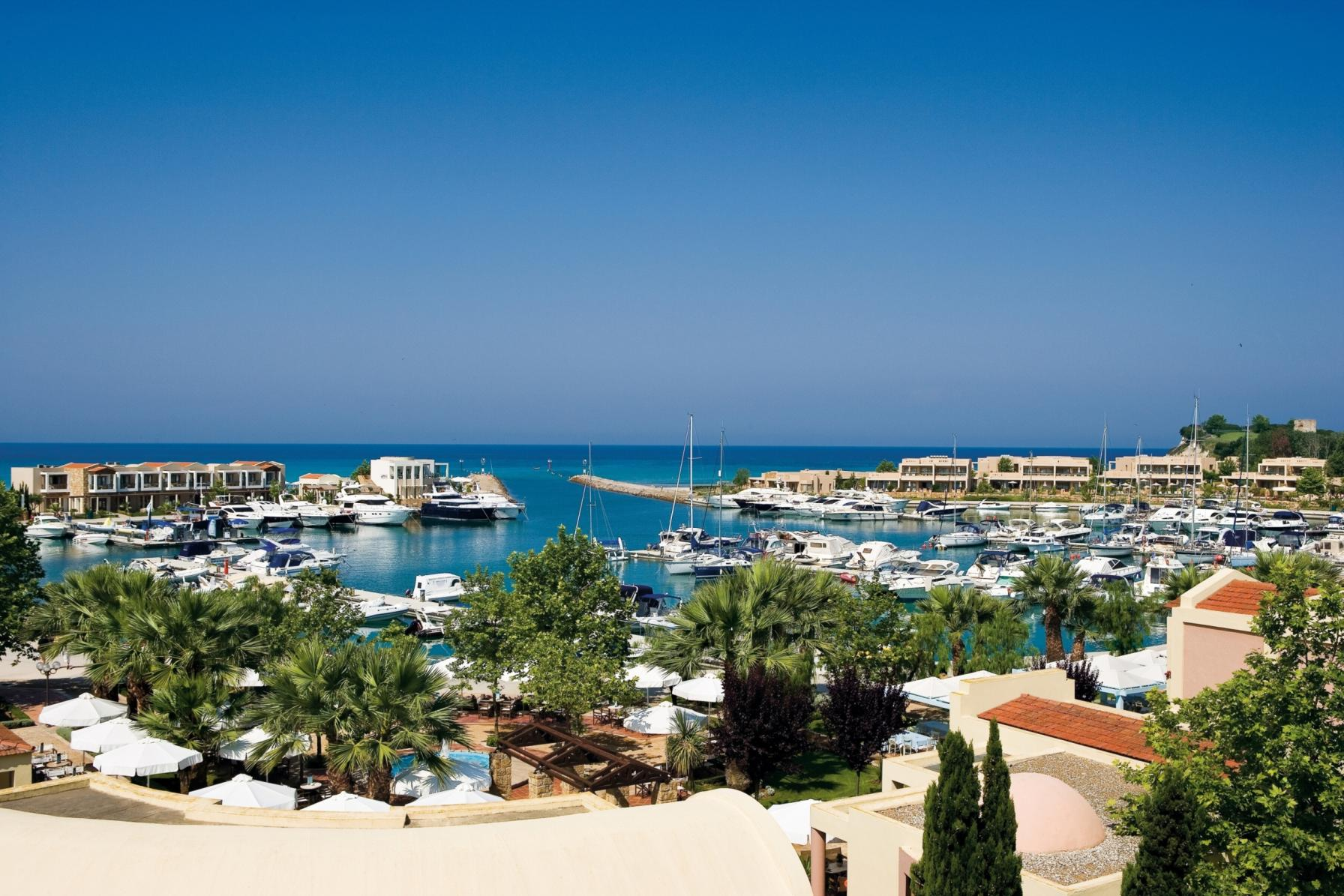 Hottest Families Resorts, Halkidiki, Greece, Sani Beach Resort marina