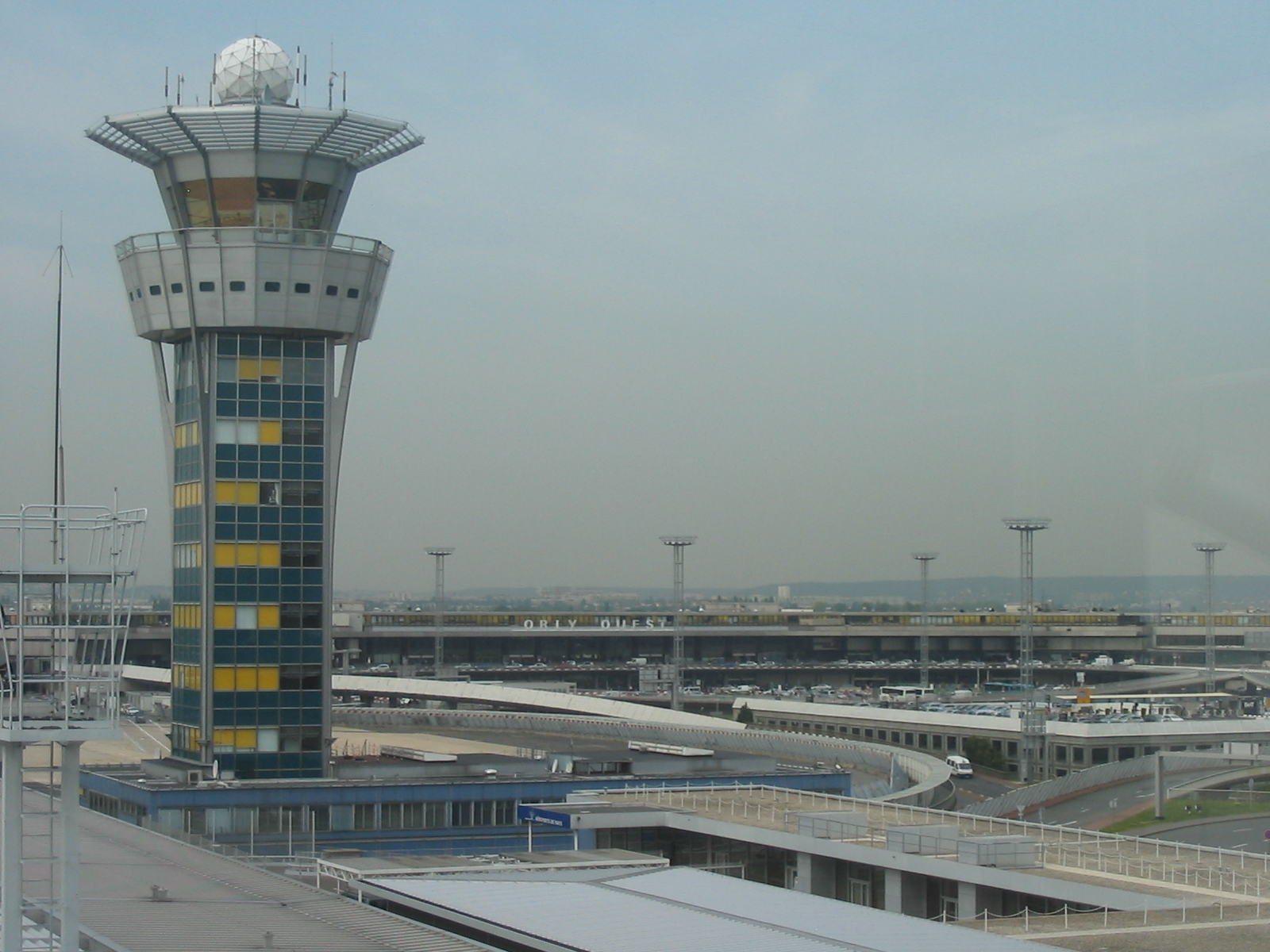 France Holiday, Paris, Orly Airport south tower