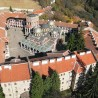 Beautiful Bulgaria, Rila Monastery, Aerial view