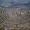 Holiday maze, Amsterdam, Netherland, Aerial city ciew