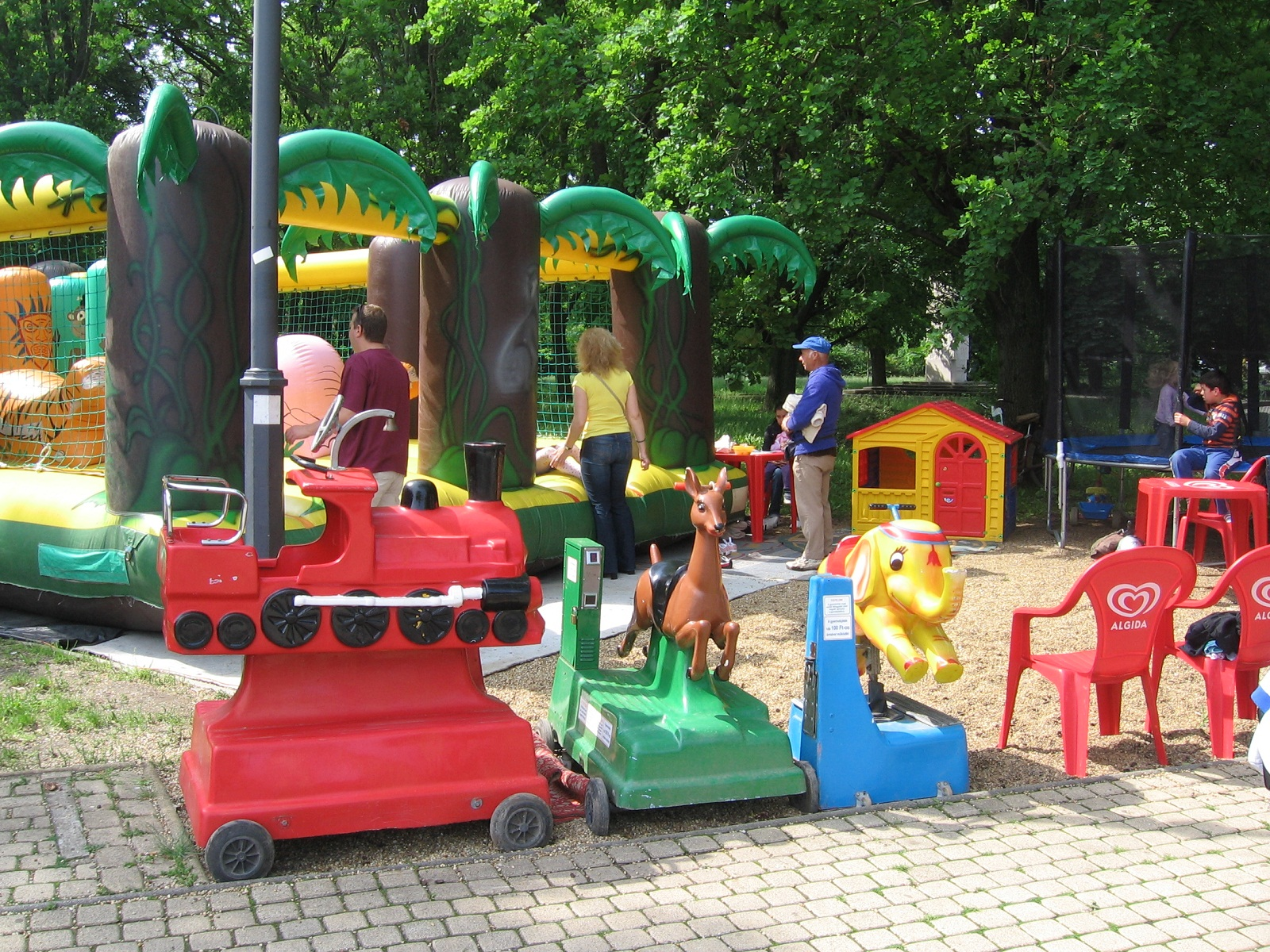 Hajduszoboszlo, Hungary, Children playground