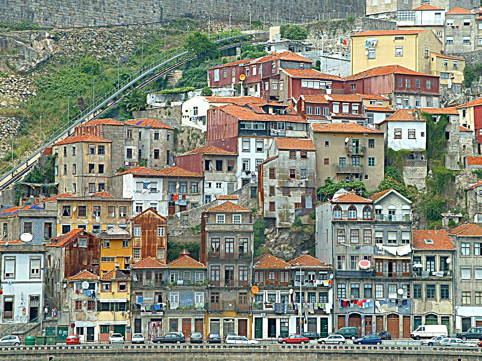 Holiday in Portugal, Porto, Portugal, City houses