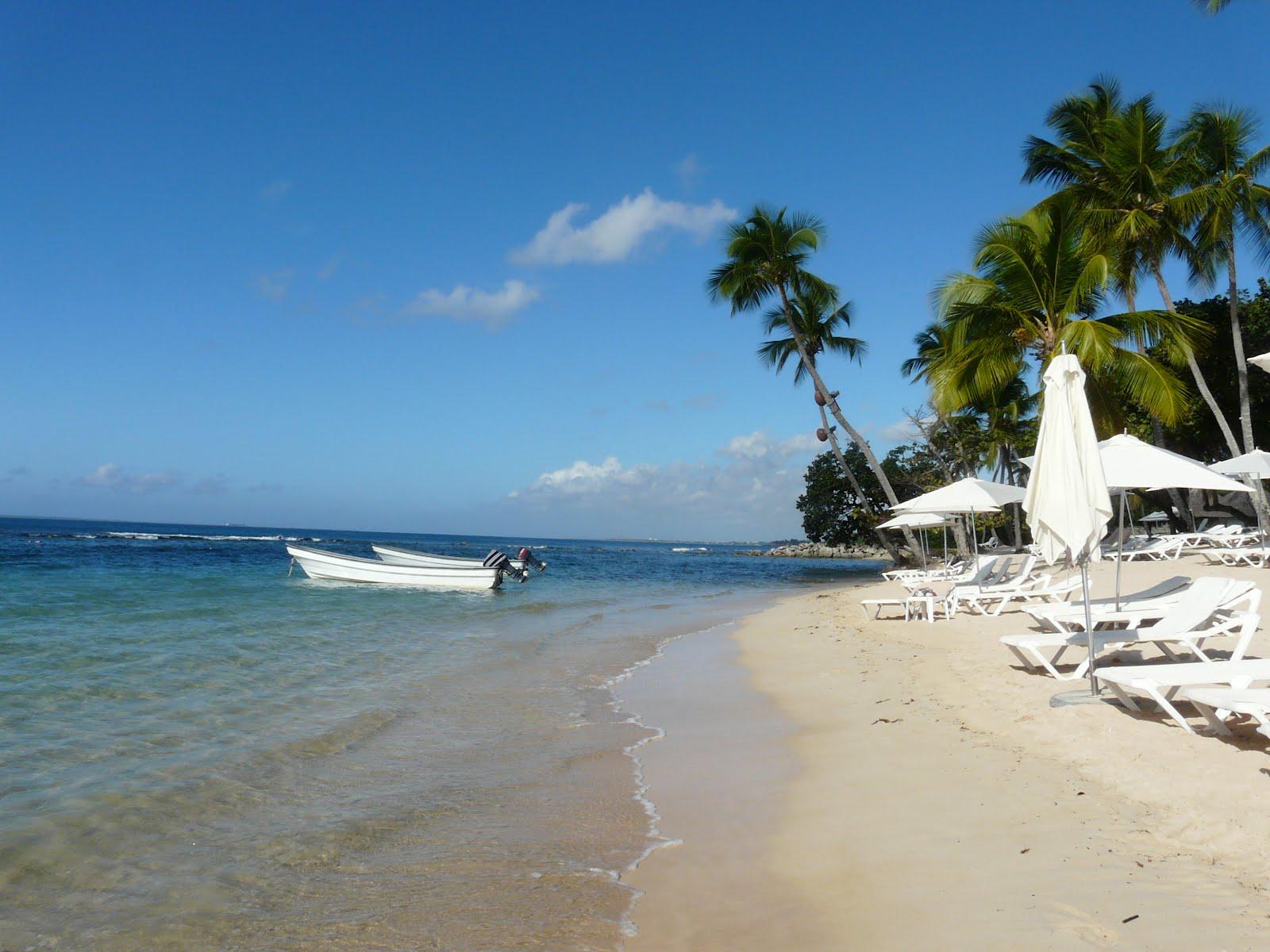 Impressive Beaches Dominican Republic Central America Las Minitas Beach With Boats