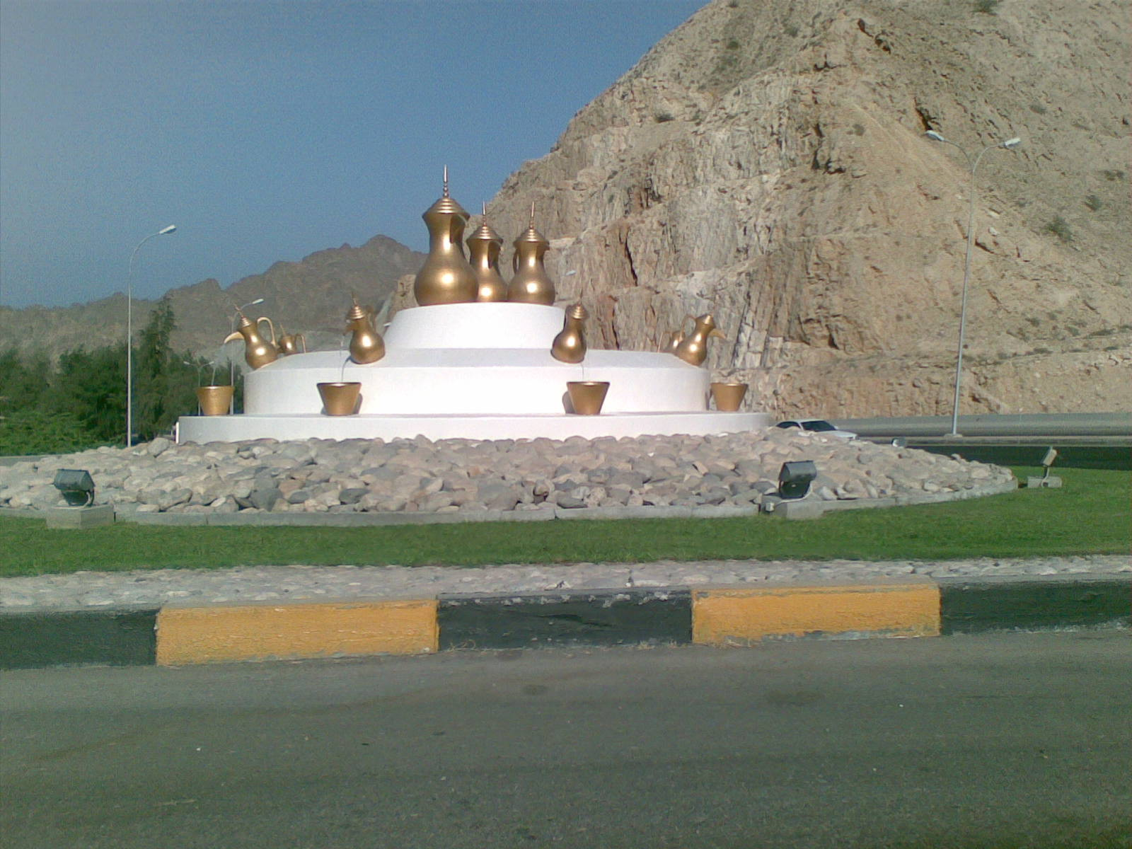 Muscat, Oman, Coffee Pot Roundabout