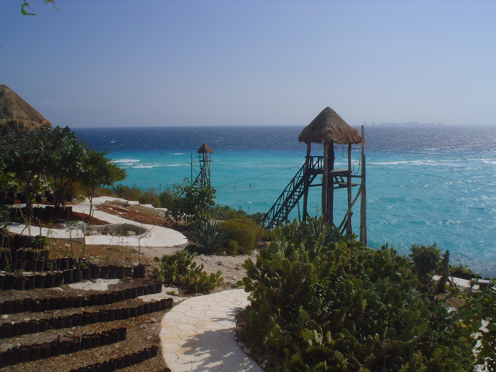 Isla Mujeres, Mexico, Watchtowers