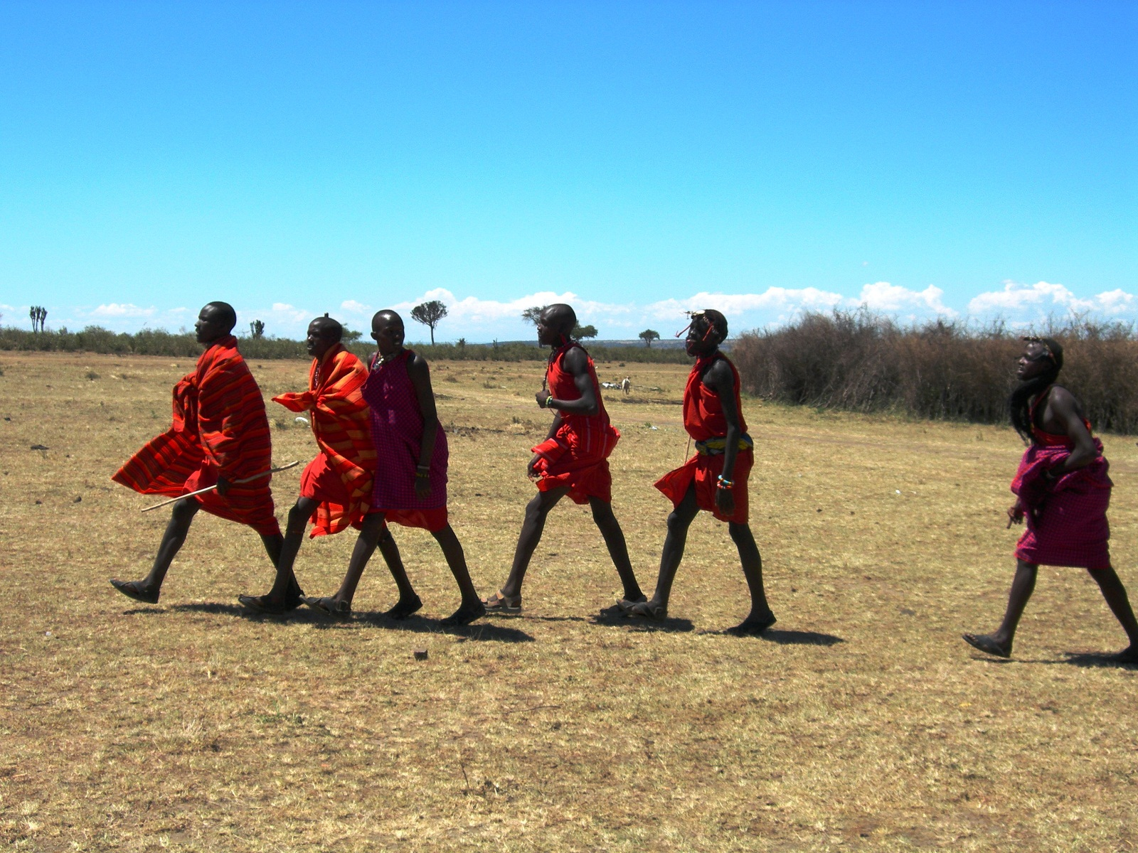 Kenya, Africa, Masai People