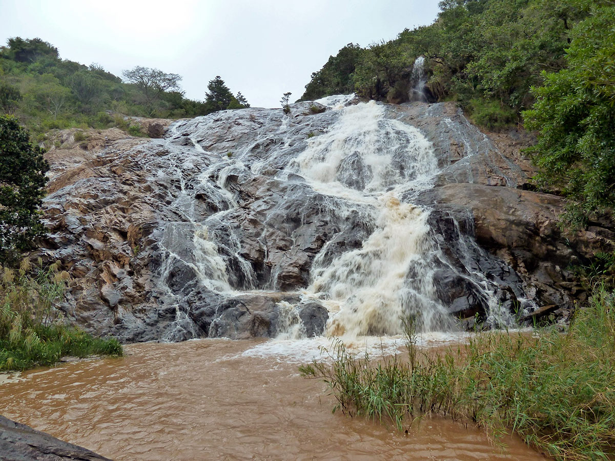 Kingdom of Swaziland Holiday, Mantenga Falls, Swaziland, Africa, Panoramic view