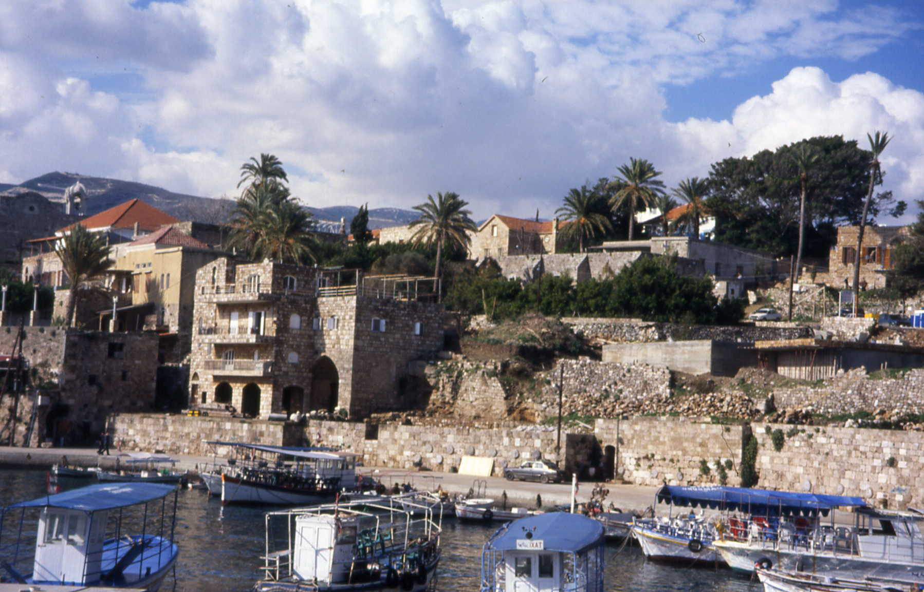 Lebanon, Asia, Byblos overview