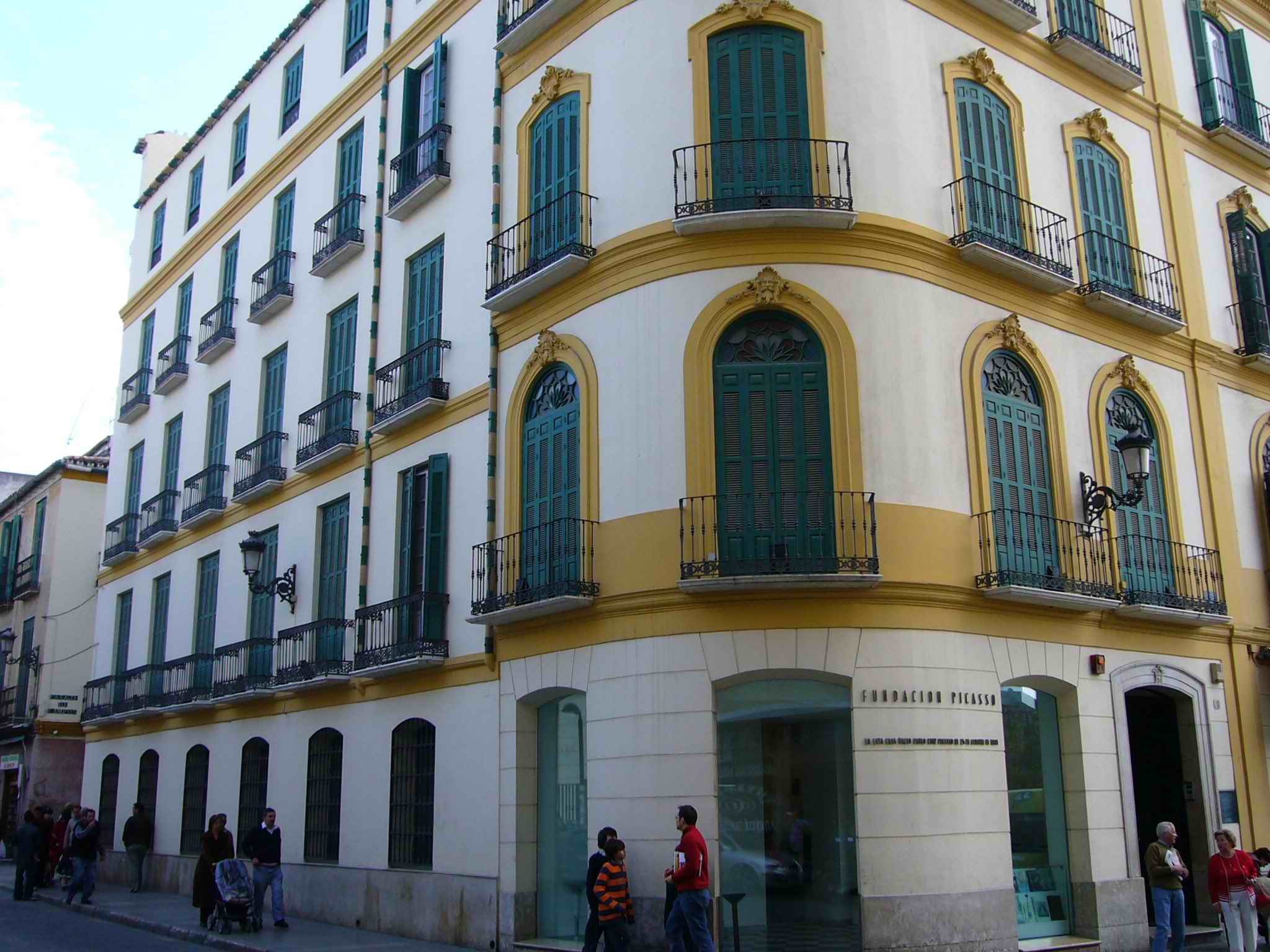 Malaga, Spain, The Picasso Museum