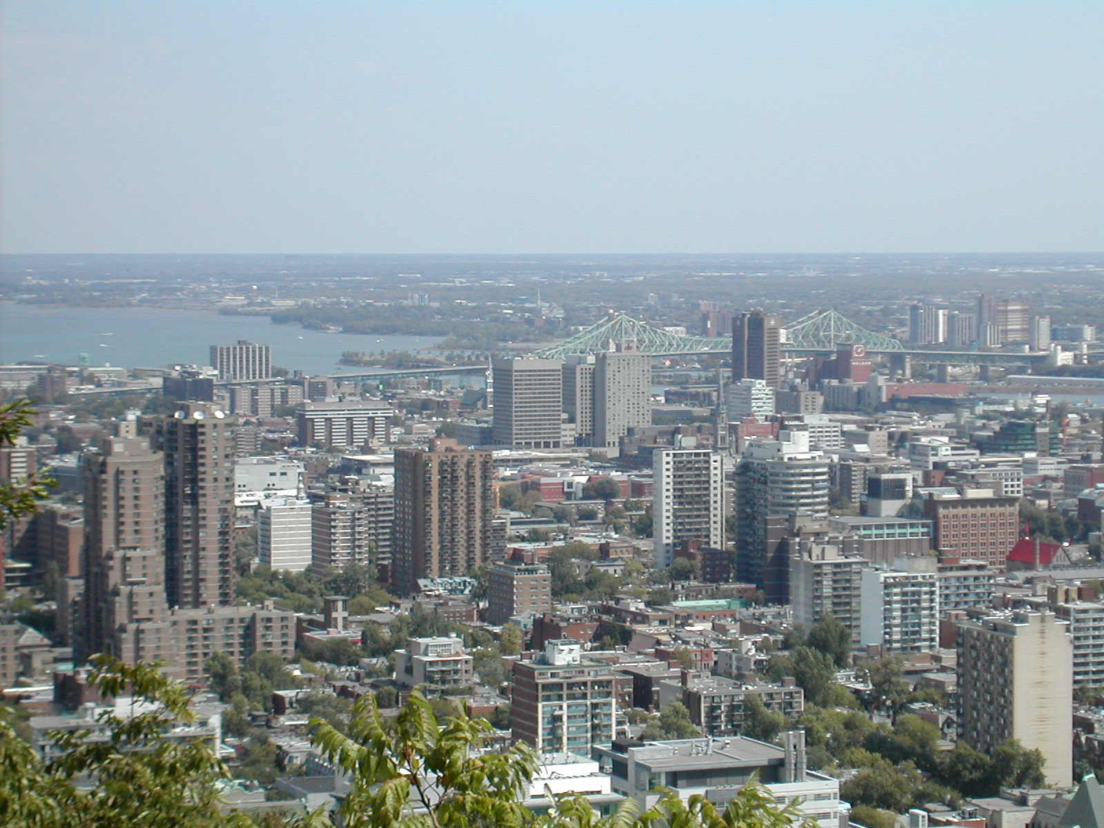 Montreal, Canada, City view panorama