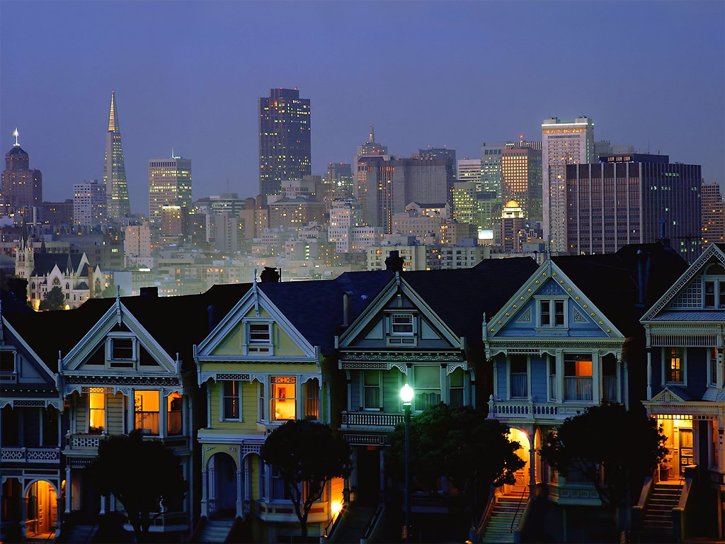 most loved cities san francisco california painted ladies. Black Bedroom Furniture Sets. Home Design Ideas