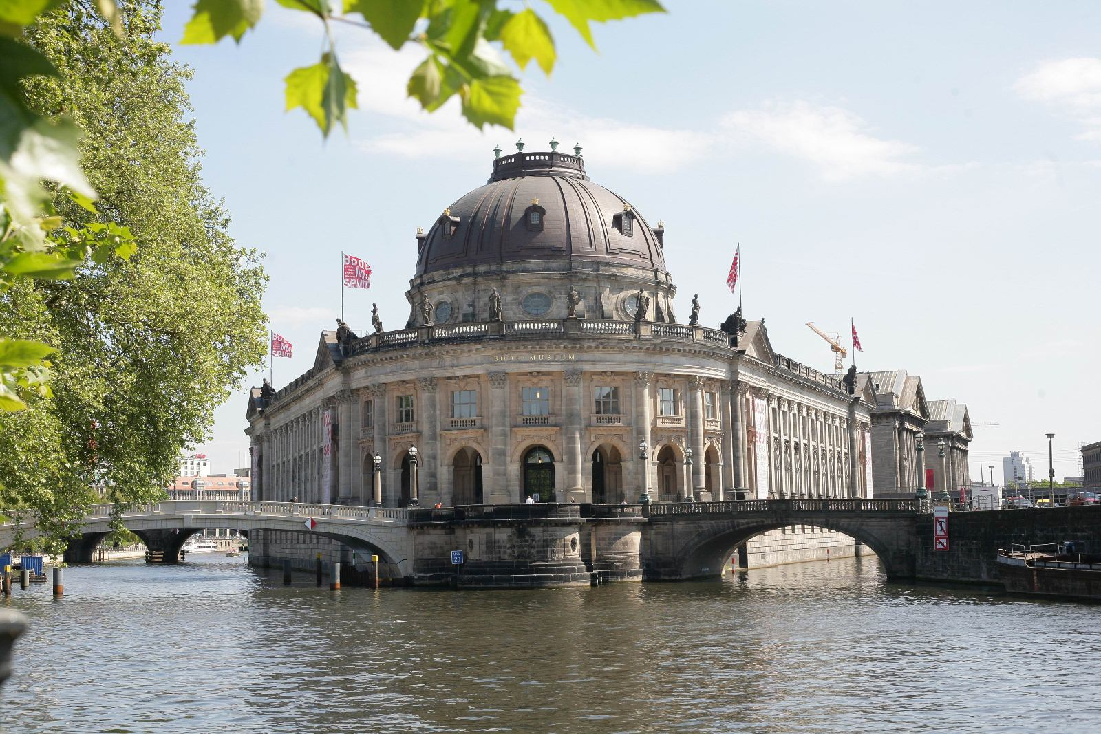 Bode Museum, Berlin, Germany, Outside view