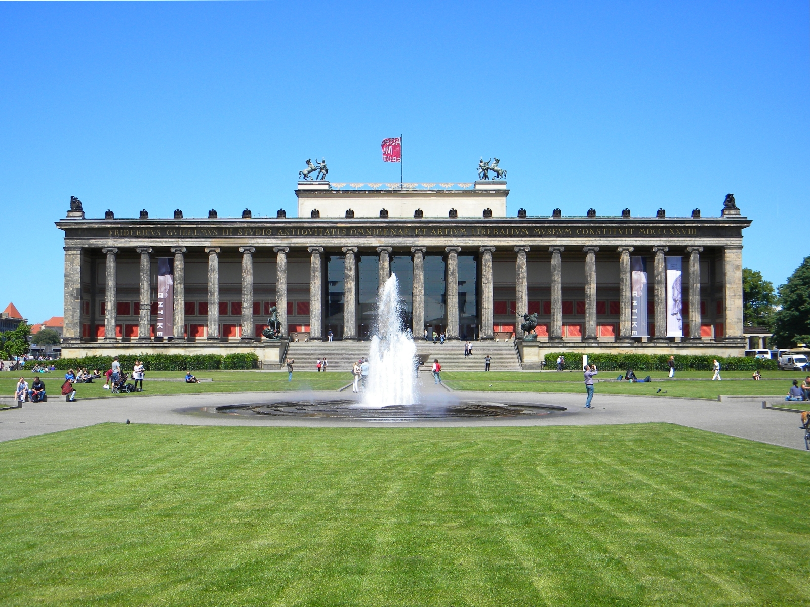 Altes Museum, Berlin, Germany, Entrance