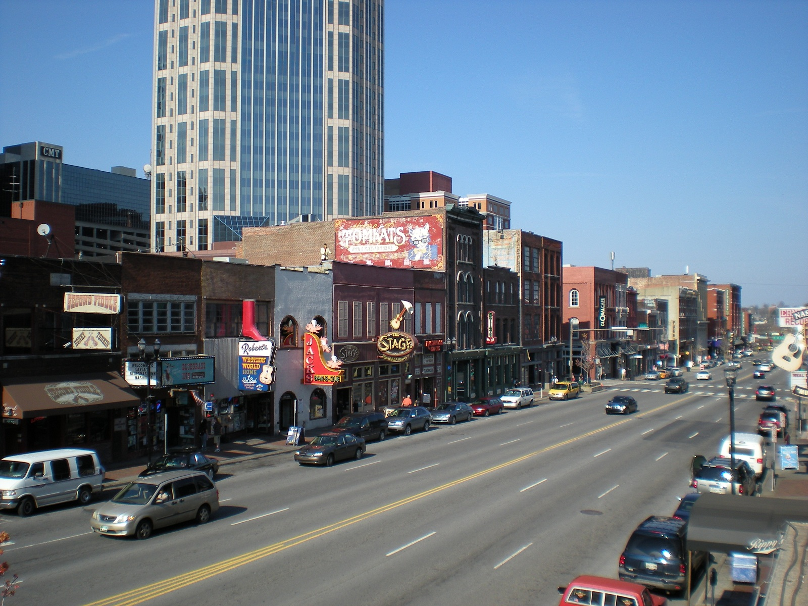 Country Music Birthplace, Nashville, Tennessee, USA, Downtown