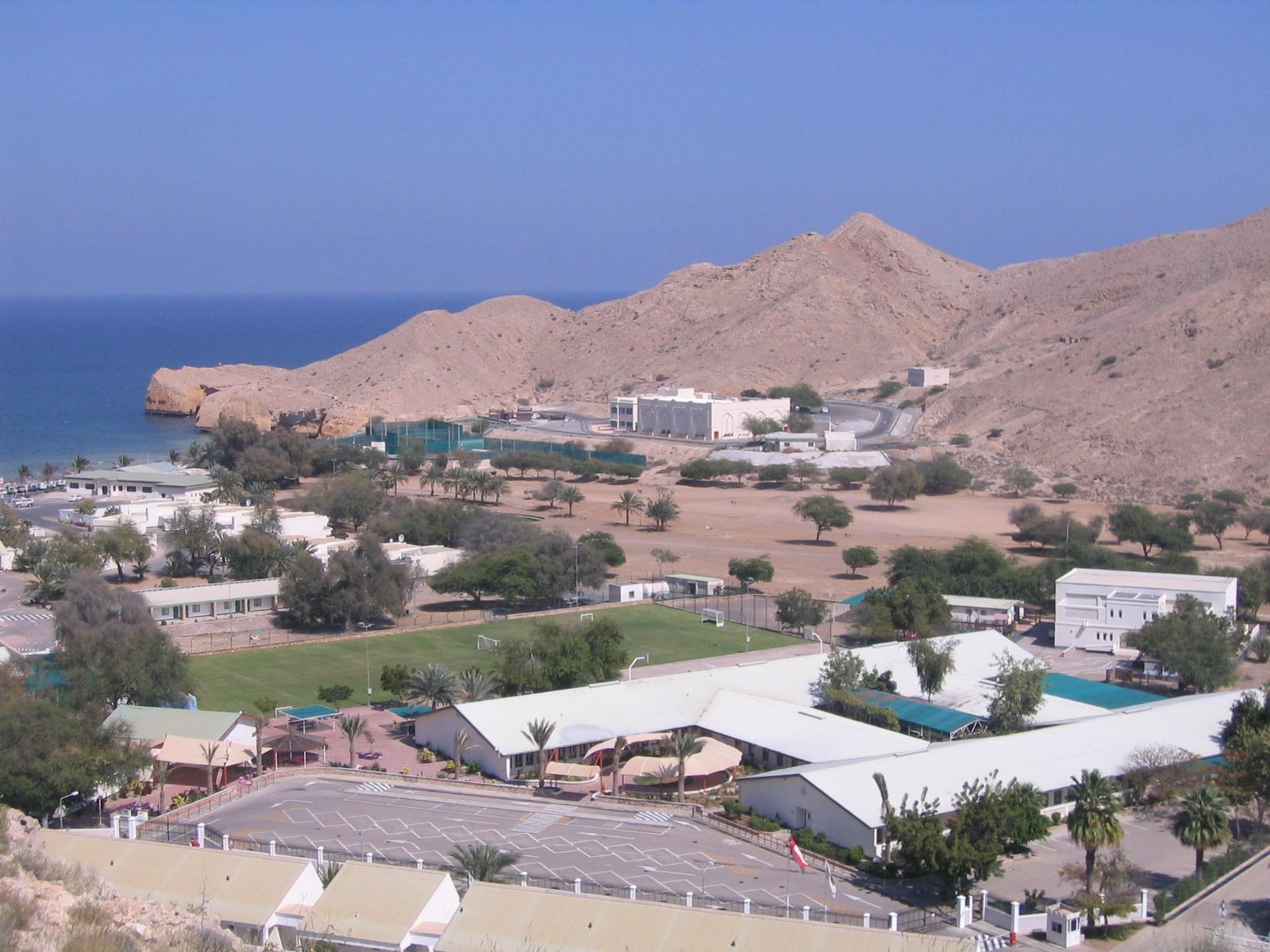Tourist Attraction, Muscat, Oman, City coastal view