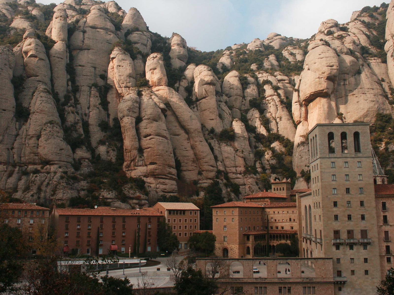 Optional Excursion, Montserrat Monastery, Spain, Front view
