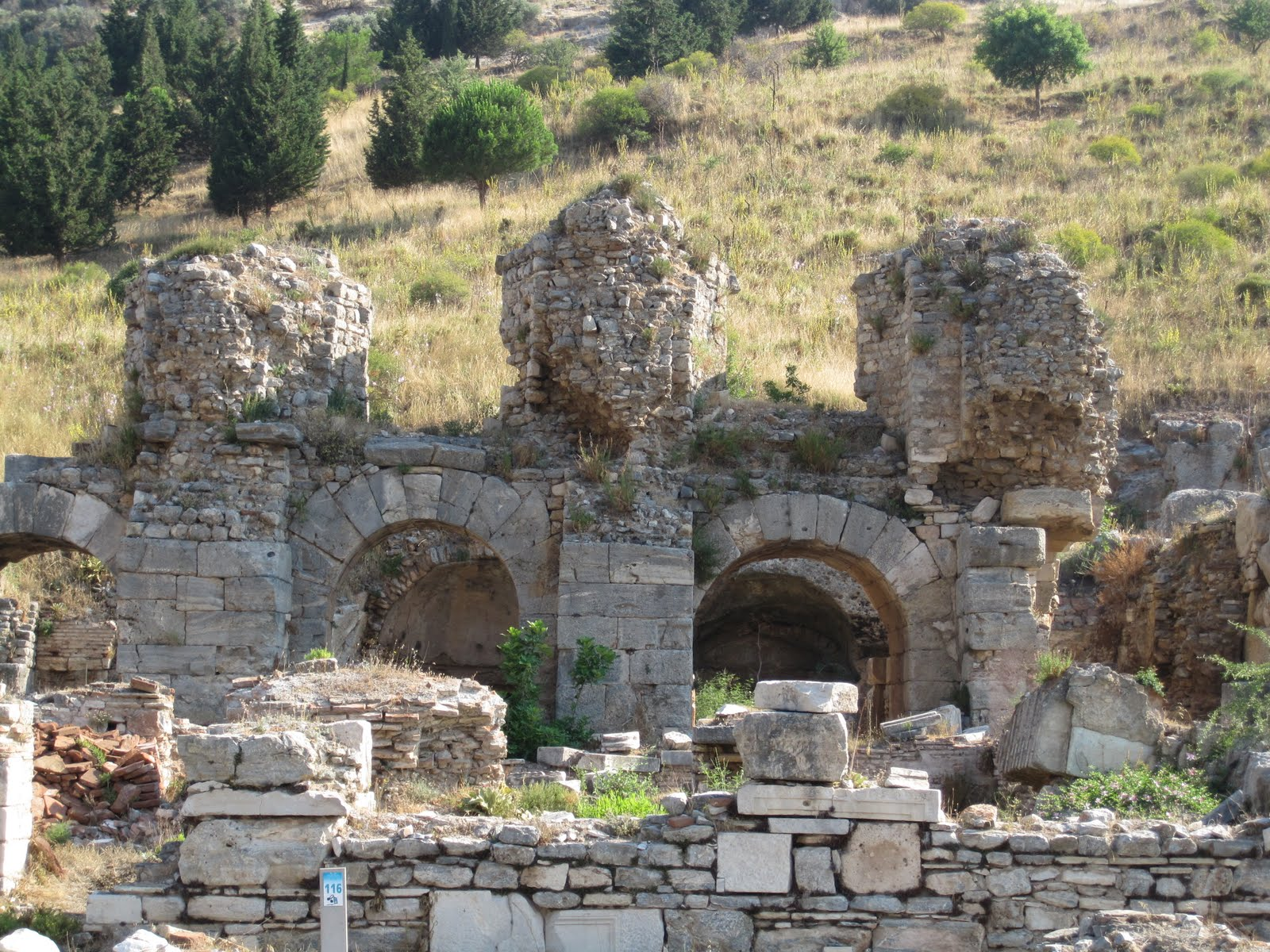 Optional Excursion, Ephesus, Turkey, The Baths ruins