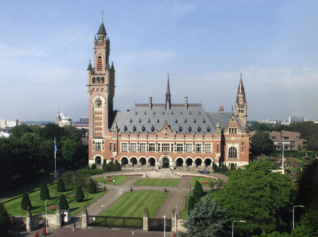 The Hague Netherlands  city photos gallery : The Hague, Netherlands, Peace Palace, Panorama