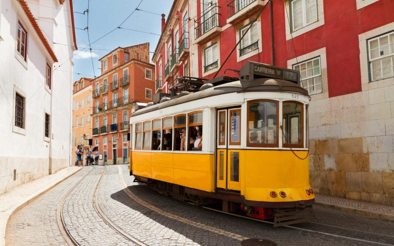 Perfect City Break Holiday, Portugal, Lisbon, Tram