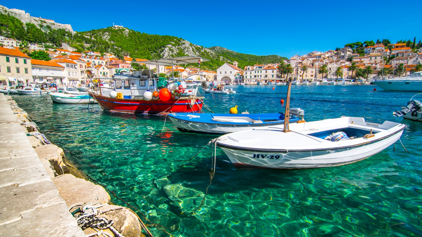 Perfect Summer Holiday Destinations, Croatia, Marina boat close view