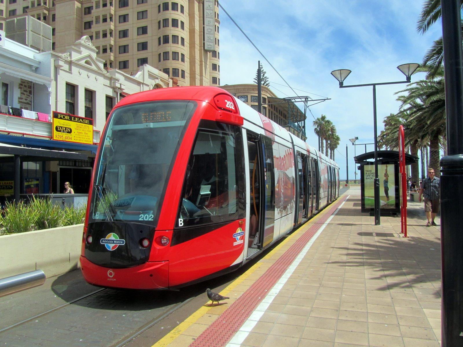 Transportation Tourism, Madrid, Spain, City tram station