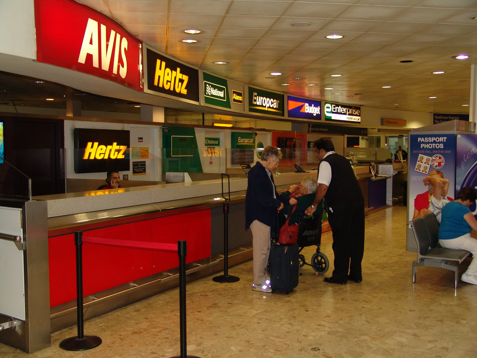 Car Rental London Heathrow Terminal