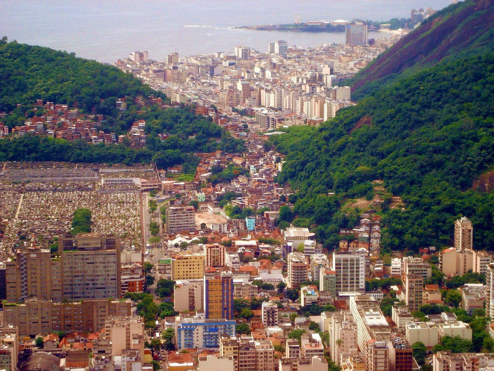 Rio de Janeiro, Brazil, City overlook
