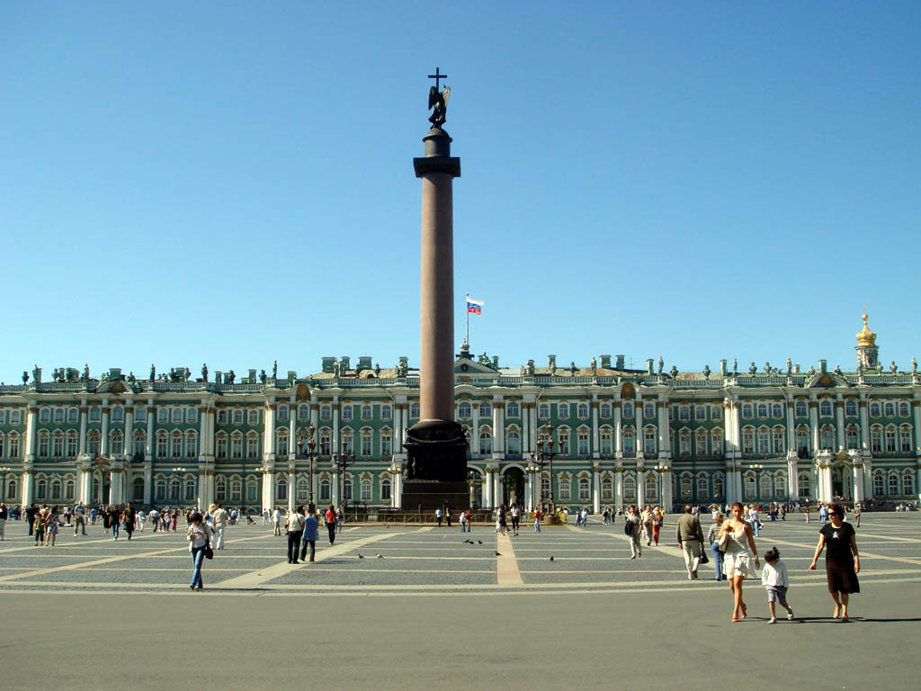 Saint Petersburg, Russia, Palace square