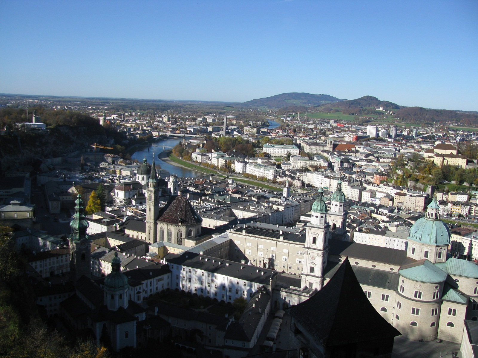 Salzburg, Austria, View from fortress