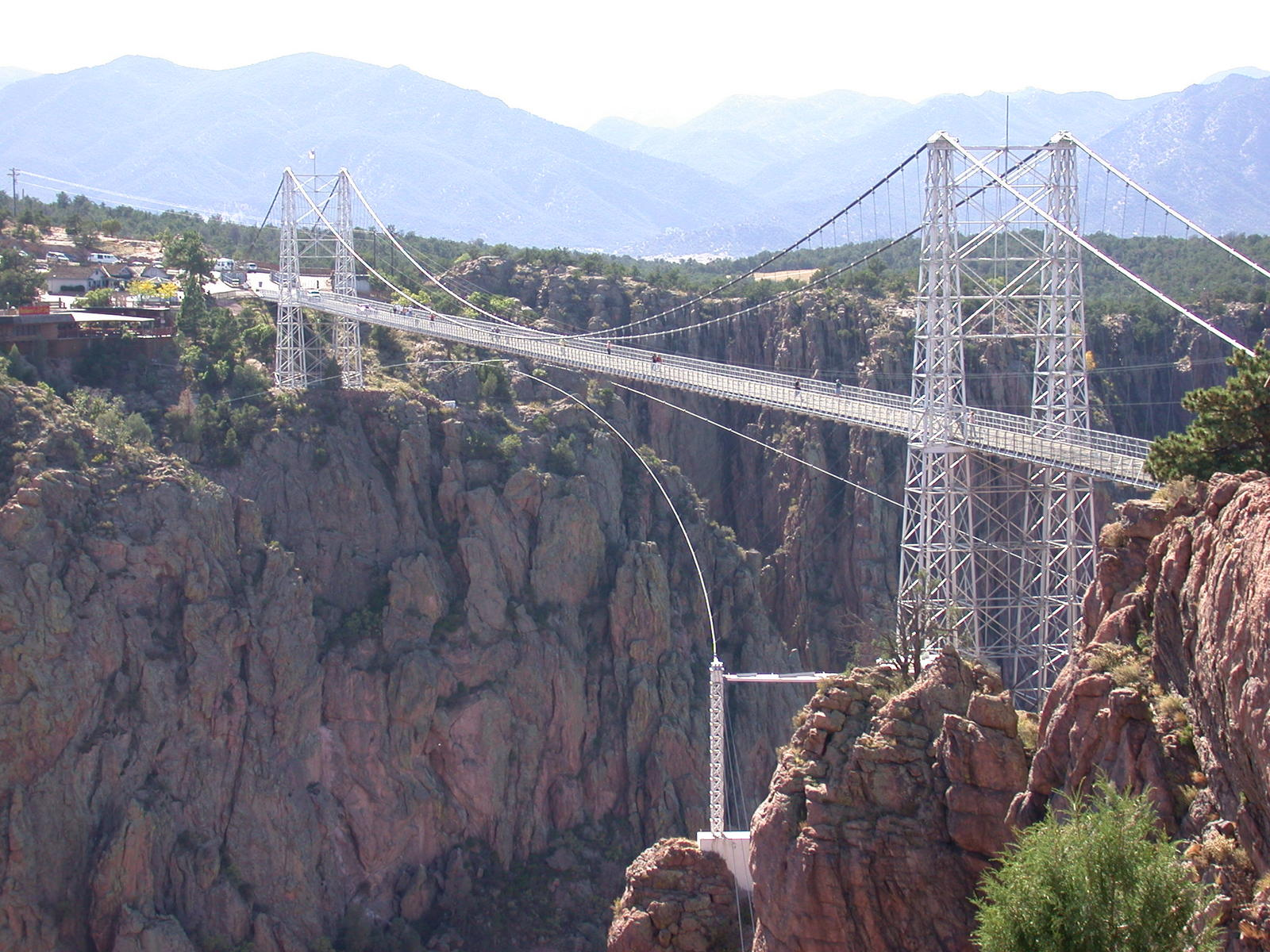 The Most Scariest Picture In The World Scariest bridges, colorado